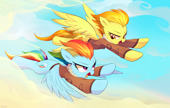 Commission 14 : Friendly race by Marenlicious