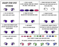 Galaxy Star Eyes Tutorial by Queen-Of-Cute