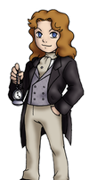 Chibi 8th Doctor by TwinEnigma