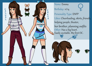 Emma Reference by drawingwolf17
