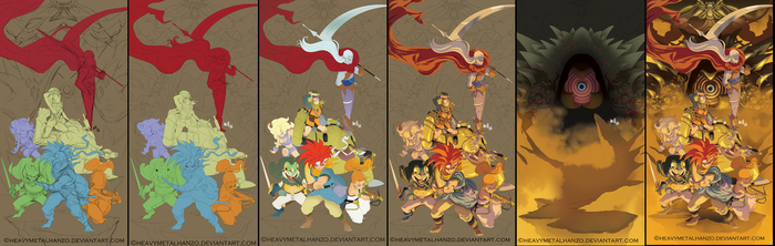 Chrono Trigger Step by Step by HeavyMetalHanzo