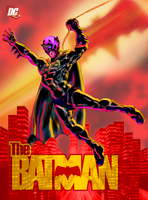 Batman: Patrol over Gotham by yomark