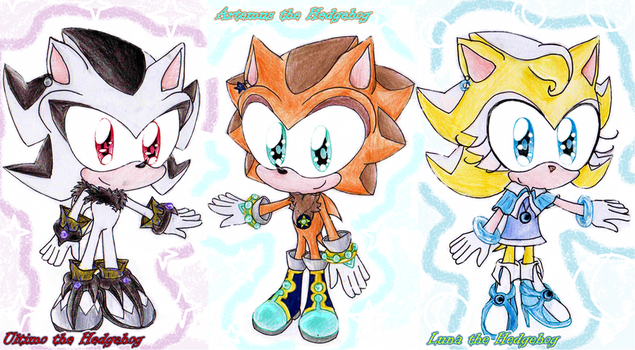 .::Chibi Shadow Characters by no1shadow