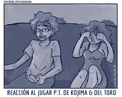 Reaccion del PT de Kojima y Del Toro by saxagenia