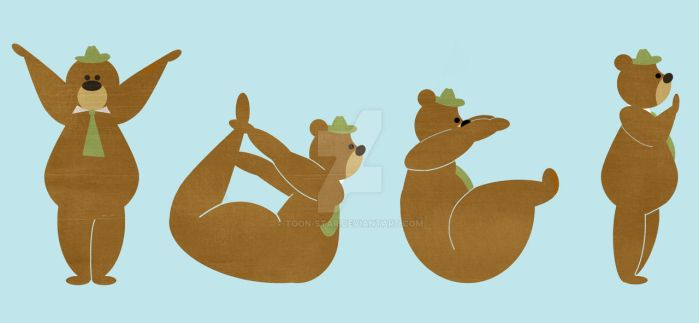 A YOGI Bear by toon-star