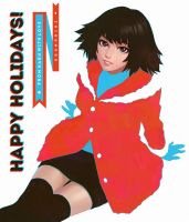Holiday Haru by Kuvshinov-Ilya