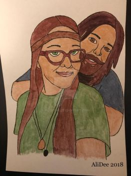 Paul and Ali  by AliDee33