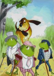 Three frogs 11 by Vanxee