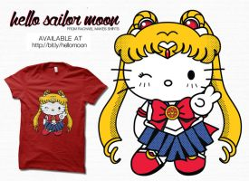 Hello Sailor Moon by digitalfragrance