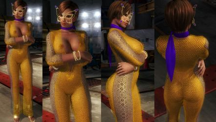 Lisa Fishnet Bodystocking by funnybunny666