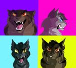 warrior cat icons by Goldsand
