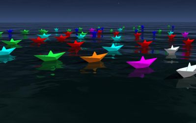 Paperboats by kvim