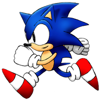 Sonic The Hedgehog True Design by JJteam