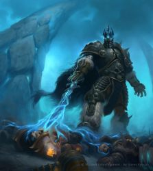 WoW TCG Lich King by namesjames