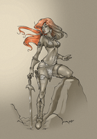 Red Sonja by Maria2904