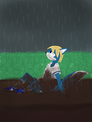 Rainy day by Flippyrock2011