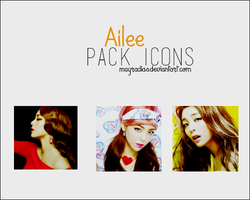 Ailee Icons by mayradias