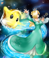 Rosie and Luma joins to Brawl by LittleOcean