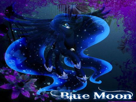 Blue Moon by Mobin-Da-Vinci