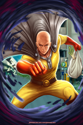 One Punch Man  by johnbecaro