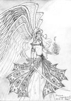 Host of the Seraphim by Mellefuielle