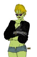 Susy the undead flats for colors by ADRIAN9