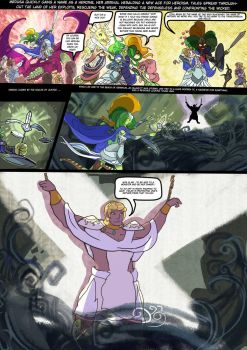 Medusa:Warrior of Justice the Graphic novel Pg 13 by BubbleDriver