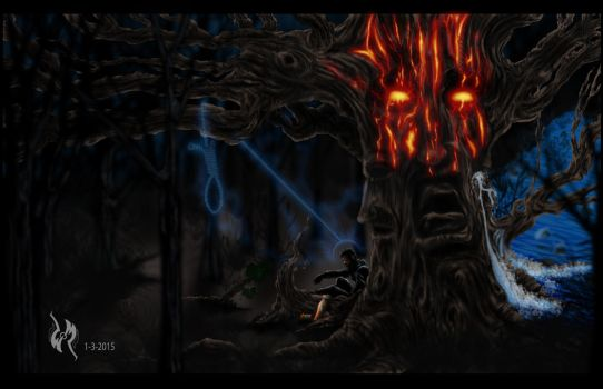 TREE OF INNER THOUGHTS, Soul, and Self by Sketch252
