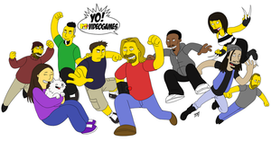 Yovideogames Simpsons by Mono-Phos