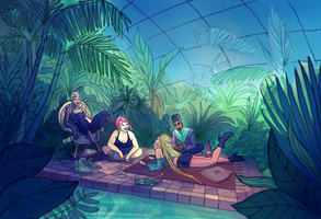 After Party Greenhouse by sarakuan