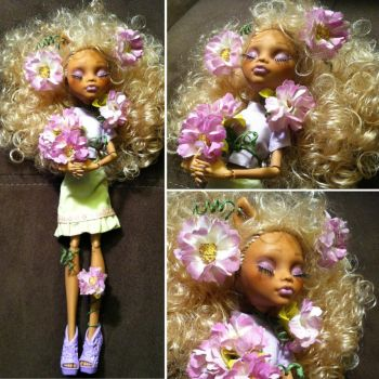 Sleeping Beauty: Monster High Custom by TerribleToadQueen