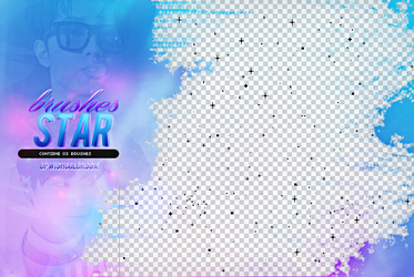 Recursos/Brushes/Star Pixel by Upwishcolorssx
