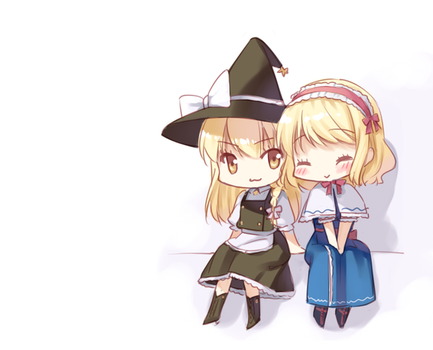 Morisa and Alice by loli-drop