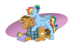 Fatherhood by DuneFilly