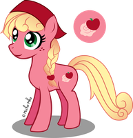 MLP OC: Summer Rose by Mocha-Mika