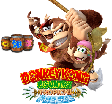 Donkey Kong Tropical Freeze - Icon v2 by MrNMS
