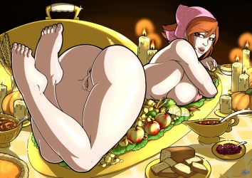 Thanksgiving with Cooking Mama (Patreon reward) by Mad-projectNSFW