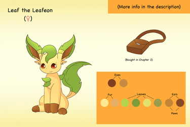 Bio: Leaf the Leafeon by PKM-150