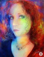 Portrait of Claudia Palmenez by Image-Six