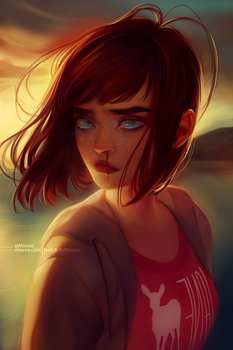 Max Caufield // Life Is Strange by mioree-art