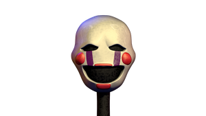 Blender|Fnaf 2 Puppet v1 W.I.P by CoolioArt