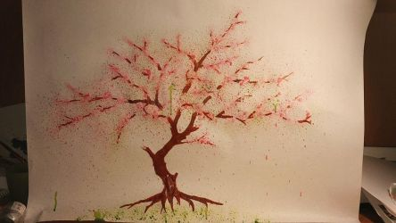 Cherry tree (messing around with paint #2) by JakobLange