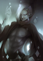 The legend of Zelda - Lord Ghirahim by Cuddens