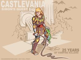 Castlevania - Simon's Quest by WilliamPenny