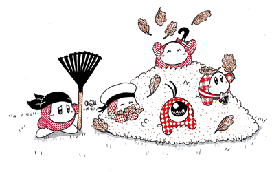 Inktober 2018 Day 28 - Waddle Squad by Chenanigans