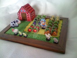 Harvest Moon Set by Blackmageheart