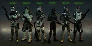 Stalker Forces of Ferocys by Master-Cyrus