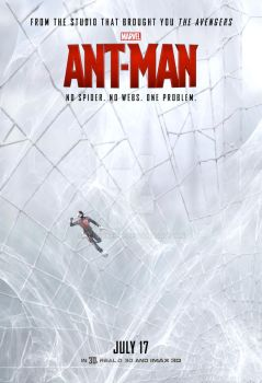 Ant-Man Poster (Spider-Man) by tclarke597
