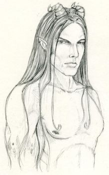 Valen - Quick Sketch by Mistresselysia