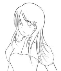 Orihime Lineart by pitoli